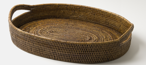 Our Rattan Basket & Tray Collection