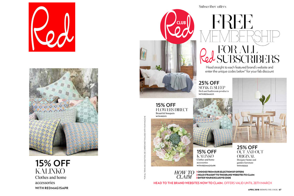 Kalinko featured in Red Magazine
