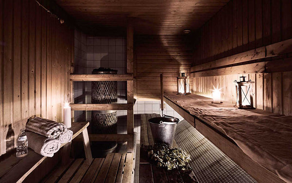 Naked Family Saunas from Finland