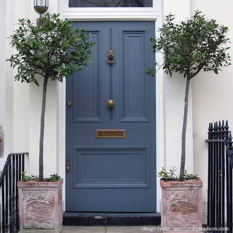 Repaint your front door