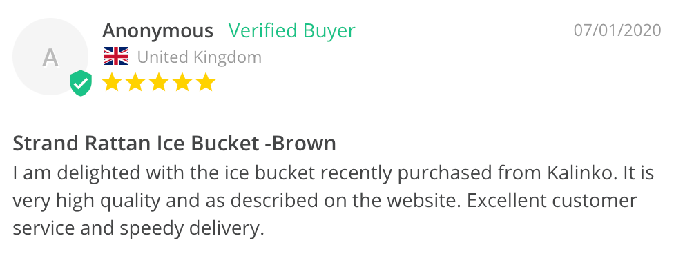 Ice bucket review