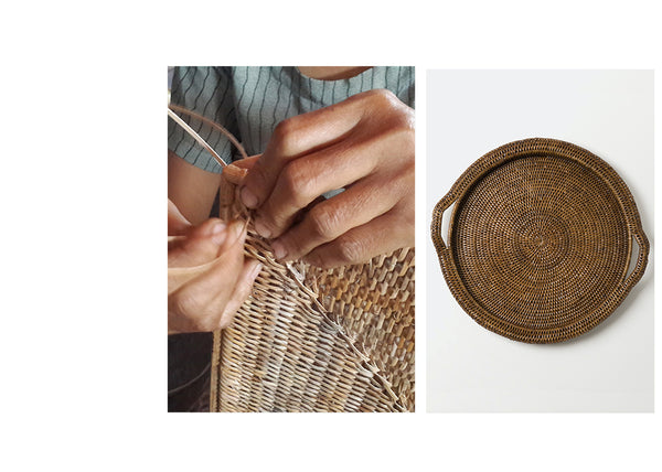 Inle Tray with Weaver