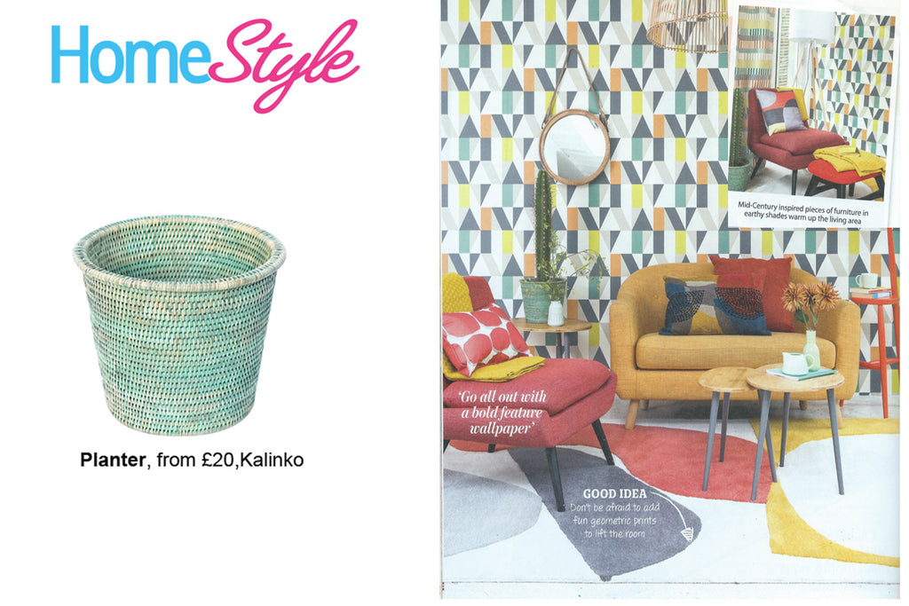 Our Kanbalu Planter featured in Home Style Magazine