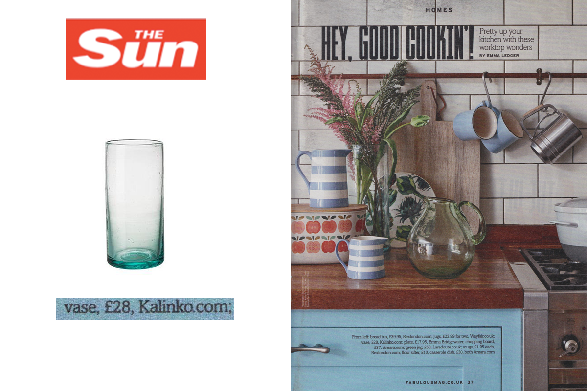 Zomi Vase featured in The Sun Magazine