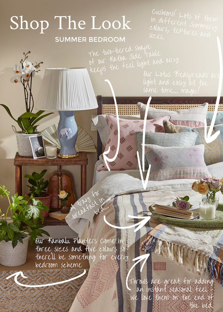 Shop The Look: Summer Bedroom