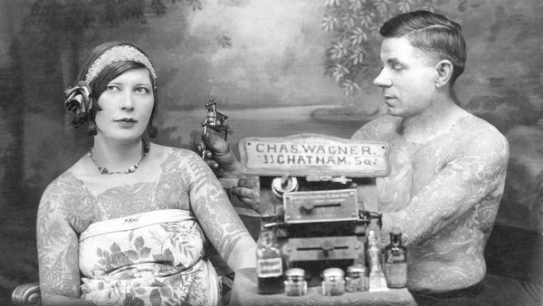 Tattoos in 20th Century British Society