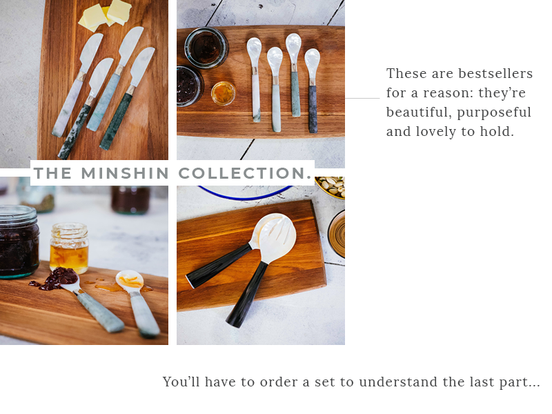 Mother of Pearl - The Minshin Collection
