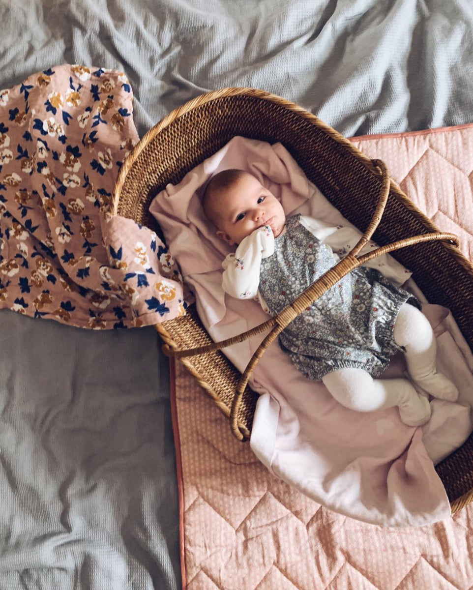 Our Moses Basket in Jules' Home