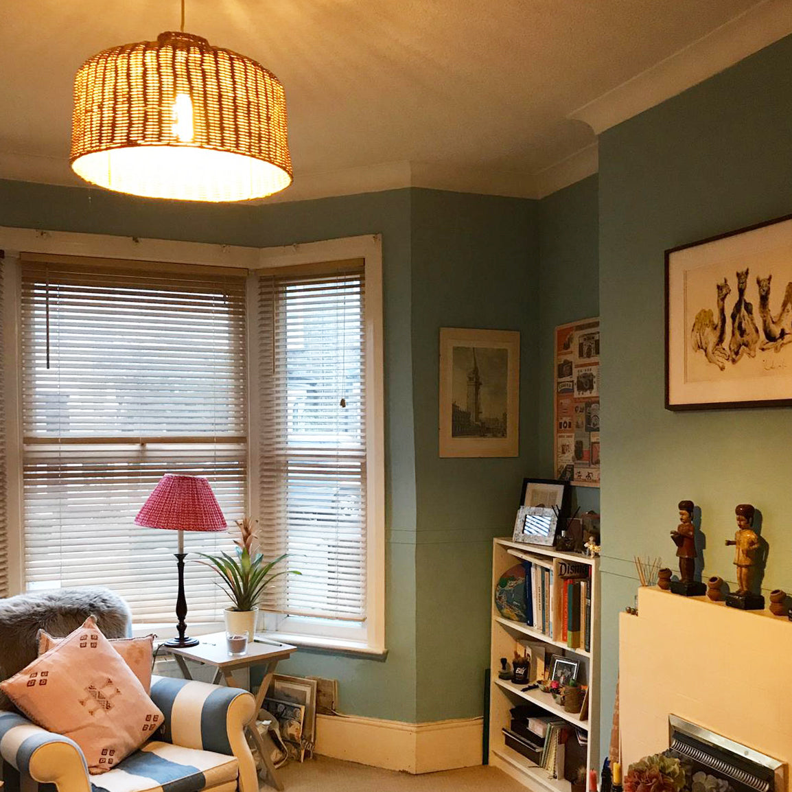 Our Asho Pendant in Sarah's sitting room