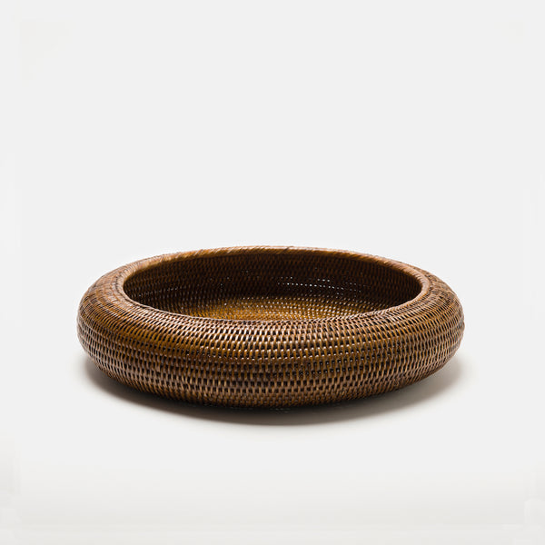 Inya Rattan Bowl | Large | Brown