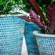 Kanbalu Rattan Planter | 5 Colours 3 Sizes