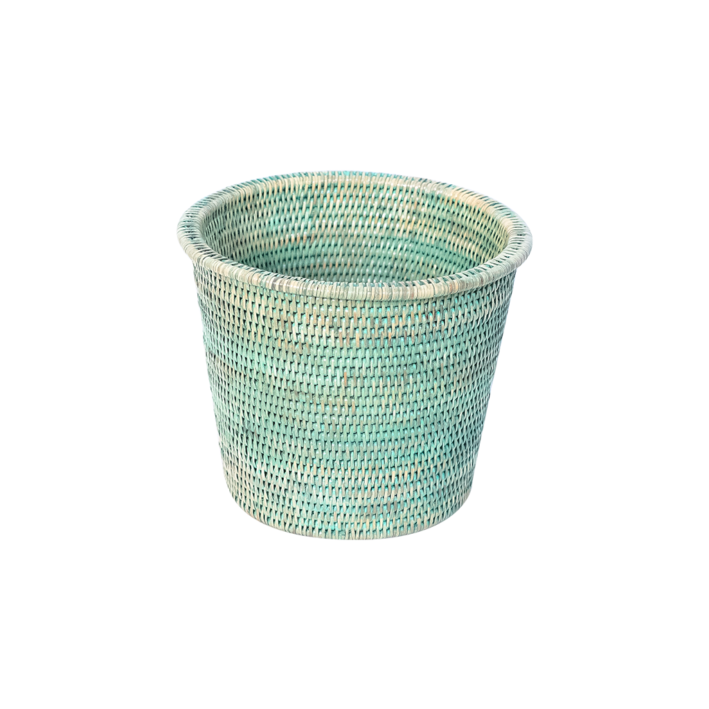 Kanbalu Rattan Planter | 3 Sizes | Green