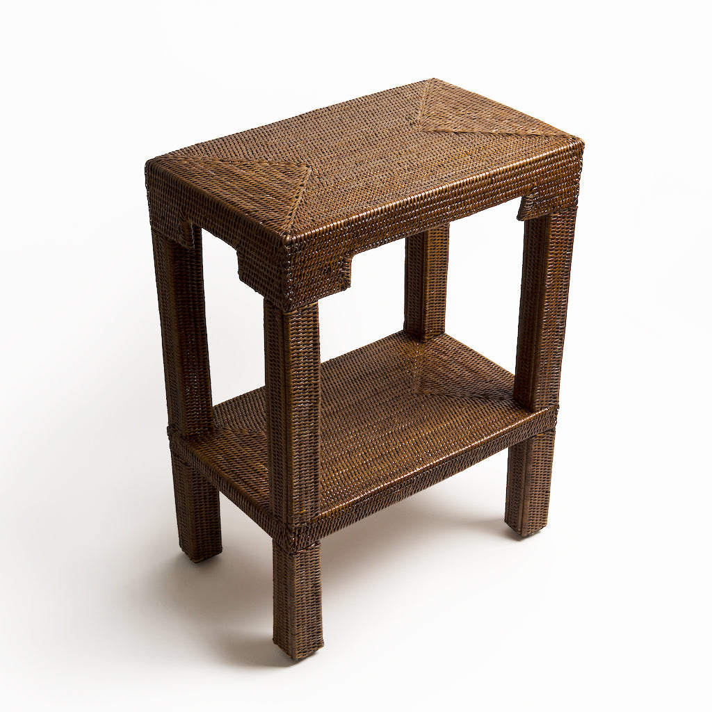 Katha Rattan Side Table