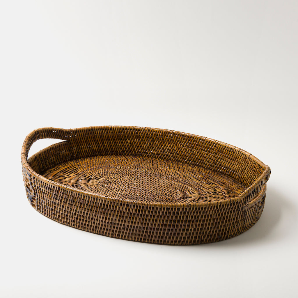 Pegu Rattan Breakfast Tray