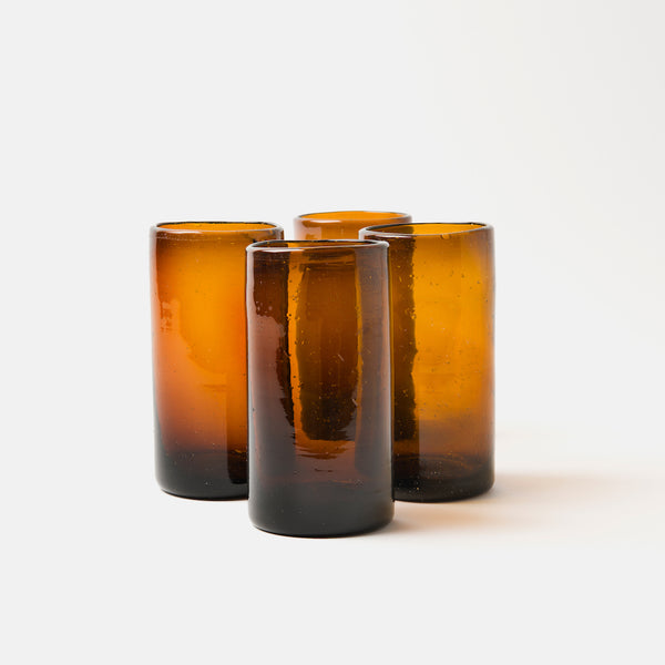 Zomi High Balls | Set of 4 | Amber