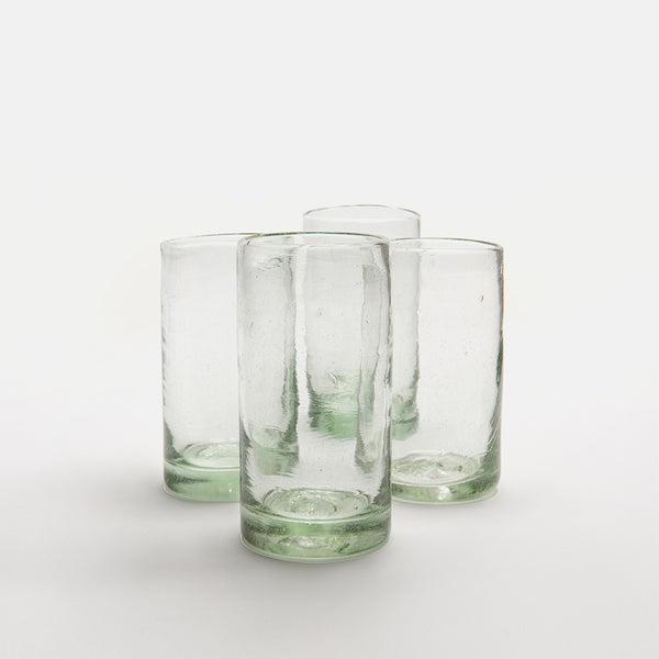 Zomi High Balls | Set of 4 | Clear