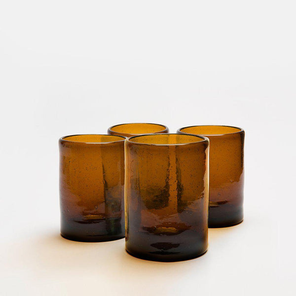 Zomi Tumblers | Set of 4 | Amber