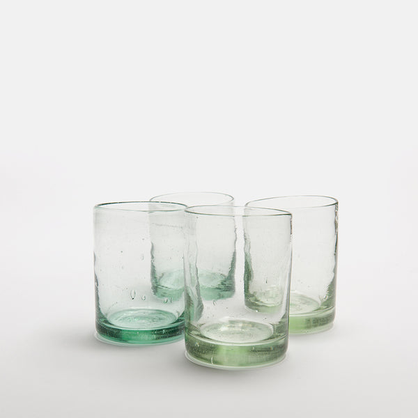 Zomi Tumblers | Set of 4 | Clear
