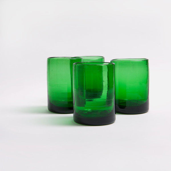 Zomi Tumblers | Set of 4 | Dark Green