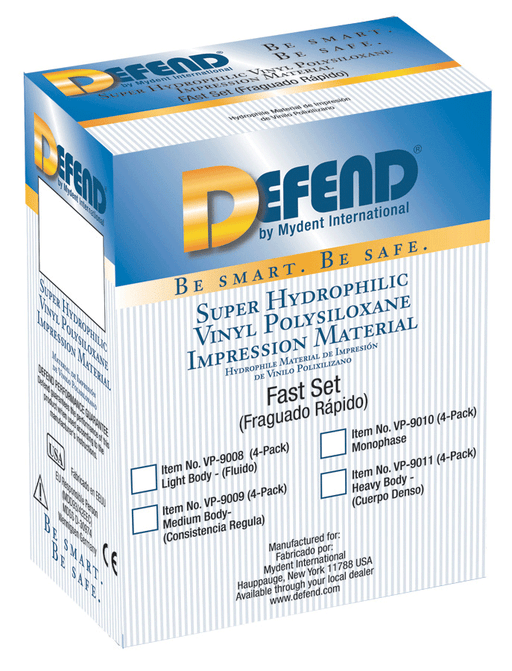 Defend VPS Material 4x50ml