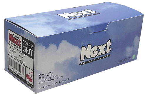 Next Prophy Paste Mint Fine 200/Bx