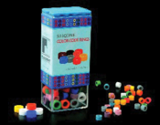 Code Rings Assorted 60/Bx