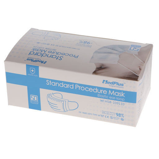 Earloop Medical Face Masks 50/Box Type IIR