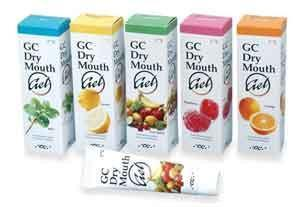 GC Dry Mouth Gel 40gm 10/Pk