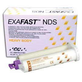 Exafast NDS Cartridge w/Tips Heavy 75mL 2/pk