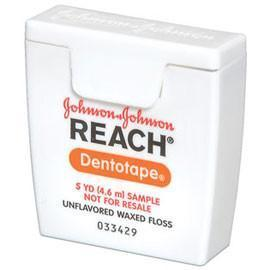 Reach Dentotape - Dental Tape - 144 Dispensers, 5yd - Unflavored