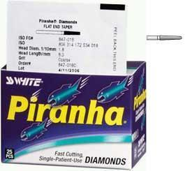 SS White Piranha Diamond 856-018C 25/Pk