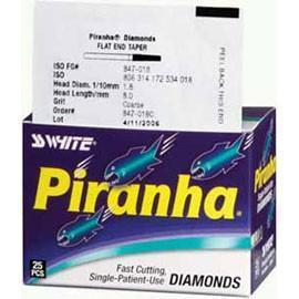 SS White Piranha Diamond 368-023C 25/Pk
