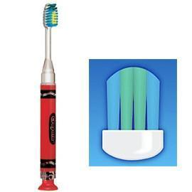 Crayola Toothbrush Flashing 1 Min Light 12/Bx