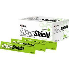 Kolorz ClearShield Fluoride Varnish Mint 200/Pk