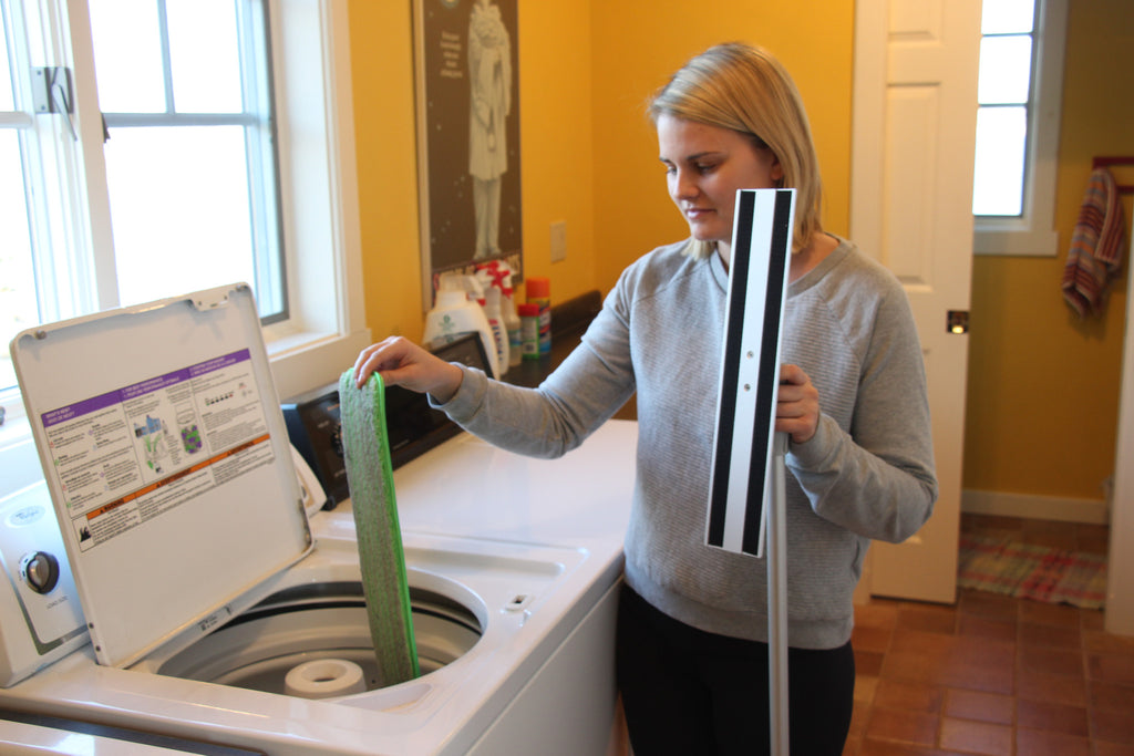 Turbo Extendable Handle Microfiber Mop
