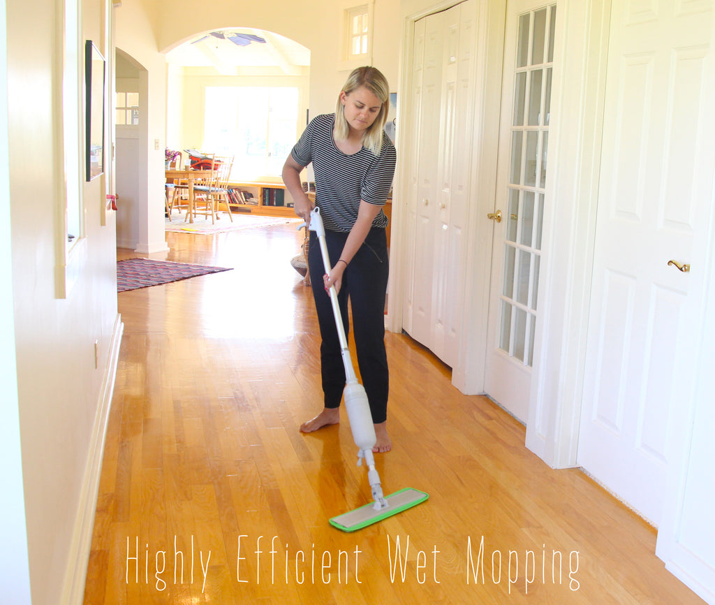 Turbo Spray Style Microfiber Mop