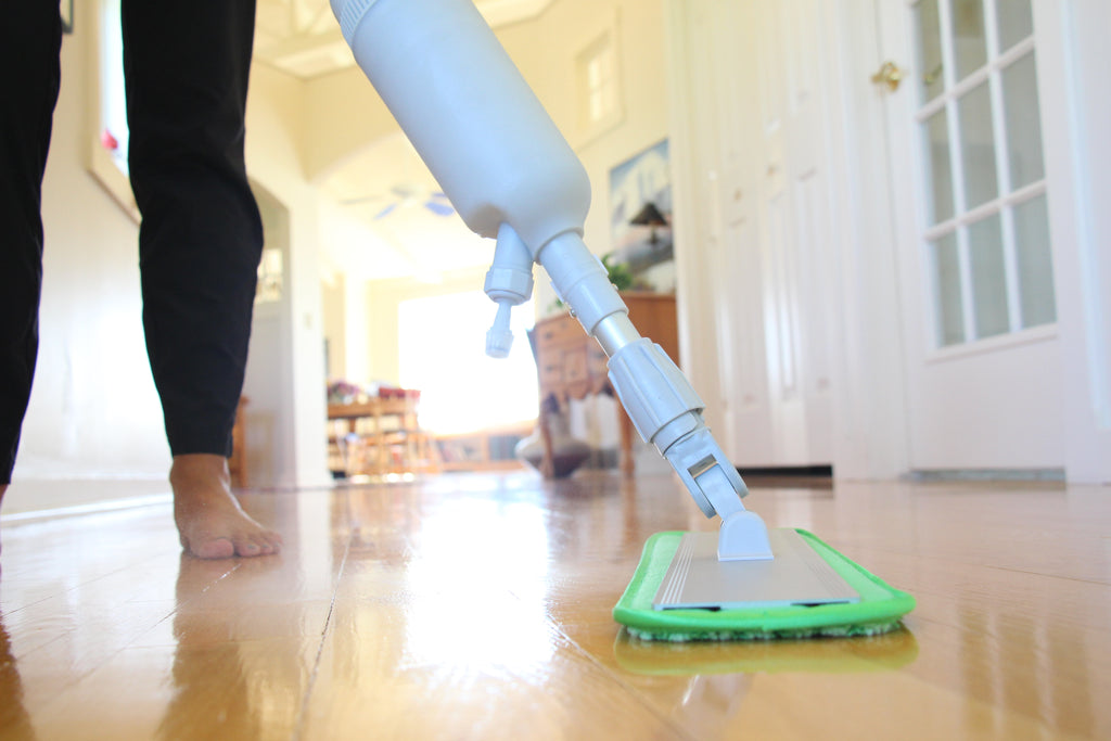 how to use microfiber mop