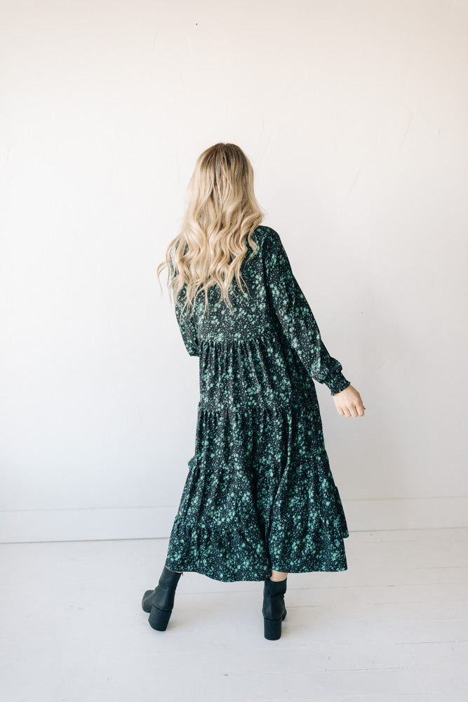 lani dress // green floral *restocked*