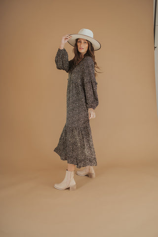 jayden knit dress // cream