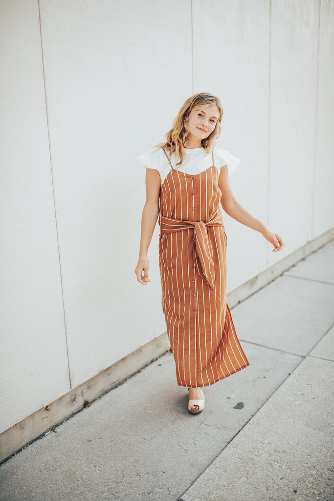 frankie striped dress