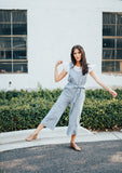 mace striped jumpsuit