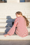 betty striped pullover