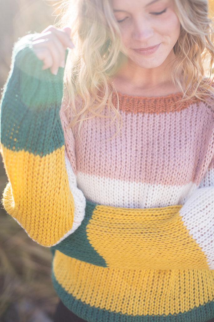 rue knit sweater