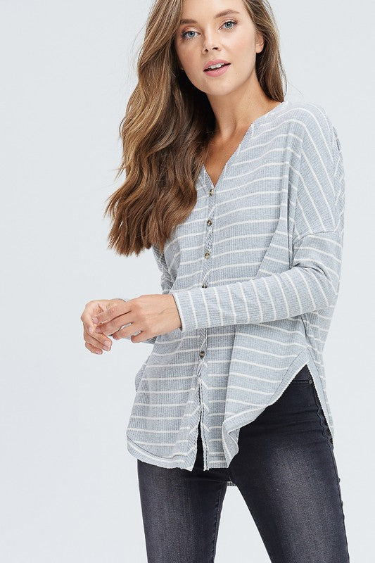 demi striped thermal (2 color options!)