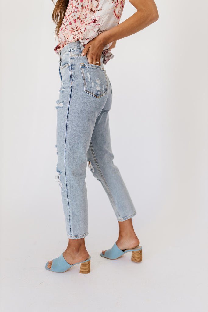 moody distressed denim *restocked*