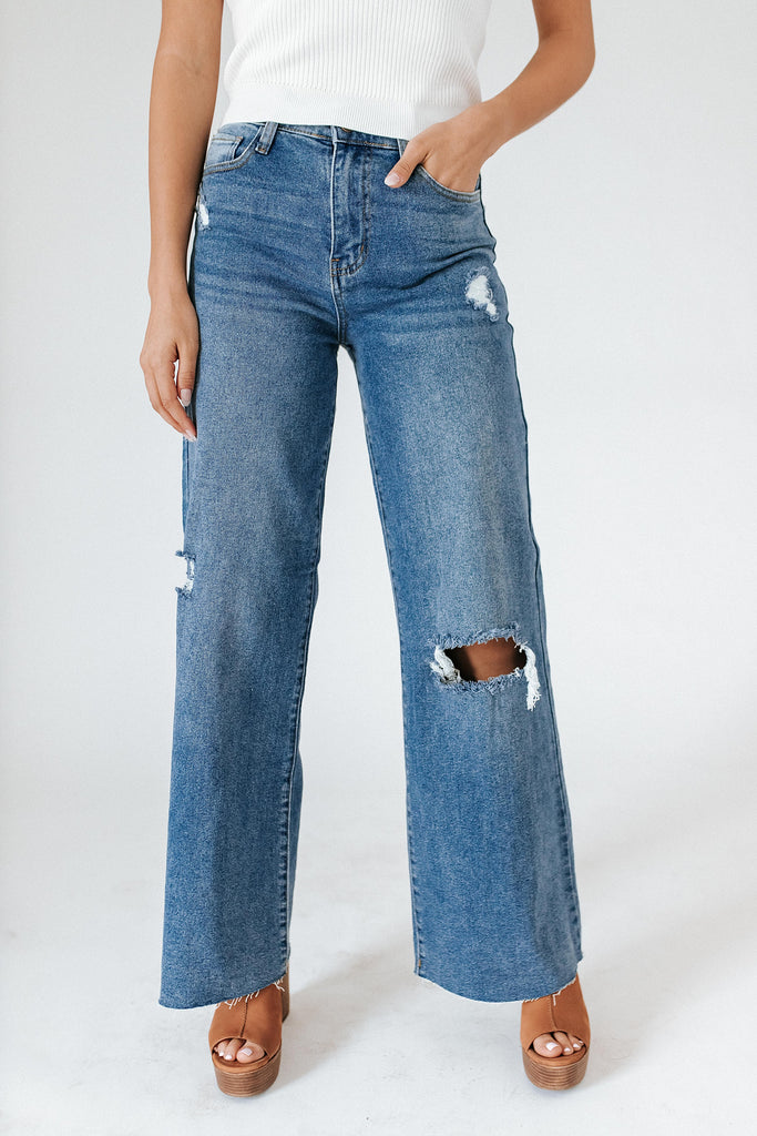dream jeans // medium wash