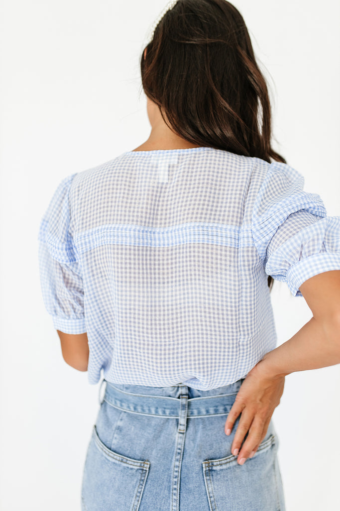 gone by button top