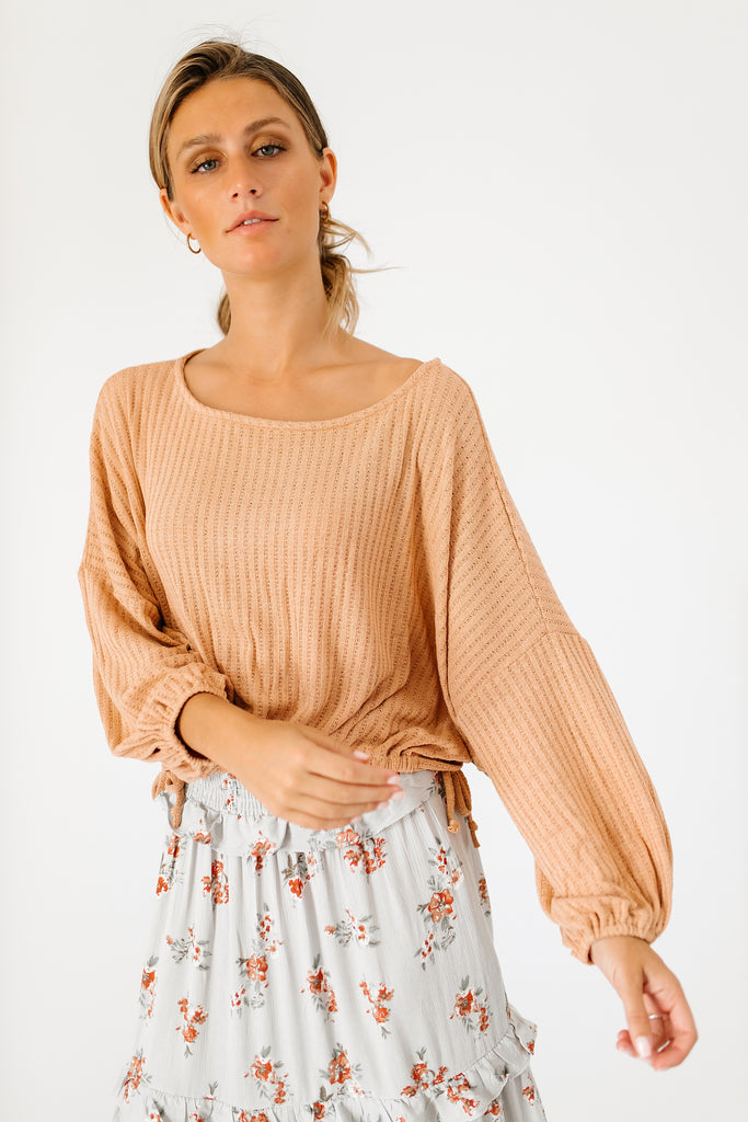 sophie knit top