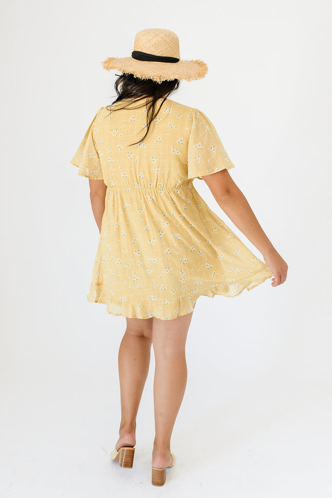 forge yellow dress