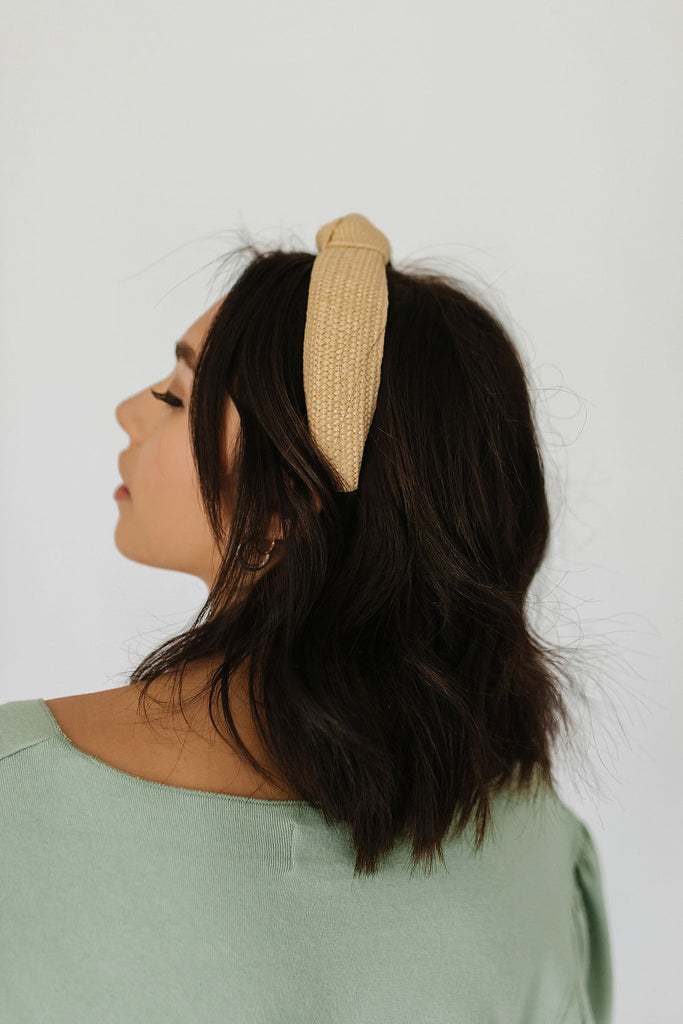simon headband // ivory *restocked*